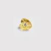 *Mallikappale-poistoale* Kuutiollinen zirkonia, kuvassa #214, keltainen, SYDÄN, 5x5mm, 1 kpl
