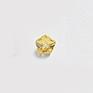 *Mallikappale-poistoale* Kuutiollinen zirkonia, kuvassa #217, keltainen, KUKKA, 4x4mm, 1 kpl
