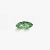 *Mallikappale-poistoale* Kuutiollinen zirkonia, kuvassa #207, vihreä, MARKIISI, 8x4mm, 1 kpl, Huom: Ei kestä polttoa