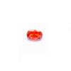 *Mallikappale-poistoale* Kuutiollinen zirkonia, kuvassa #729, oranssi, ovaali, 6x4mm, 1 kpl