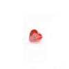 *Mallikappale-poistoale* Kuutiollinen zirkonia, kuvassa #732, oranssi, sydän, 5x5mm, 1 kpl
