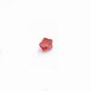 *Mallikappale-poistoale* Kuutiollinen zirkonia, kuvassa #735, oranssi, kukka, 4x4mm, 1 kpl