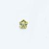 *Mallikappale-poistoale* Kuutiollinen Zirkonia, kuvassa #166, Peridotti (limen keltainen), KUKKA, 4x4mm, 1 kpl, huom polttoa ei testattu