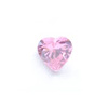 *Mallikappale-poistoale* Kuutiollinen zirkonia, kuvassa #723, pinkki, sydän, 8x8mm, 1 kpl