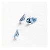 *Mallikappale-Poistoale* Synteettinen zirkonia, todella kaunis pisara, vaalea sininen aqua, 5x3mm 1 kpl *Harvinainen malli* OVH 6.20