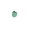 *Mallikappale-poistoale* Kuutiollinen zirkonia, kuvassa #727, vihreä, sydän, 5x5mm, 1 kpl, Huom: Ei kestä polttoa